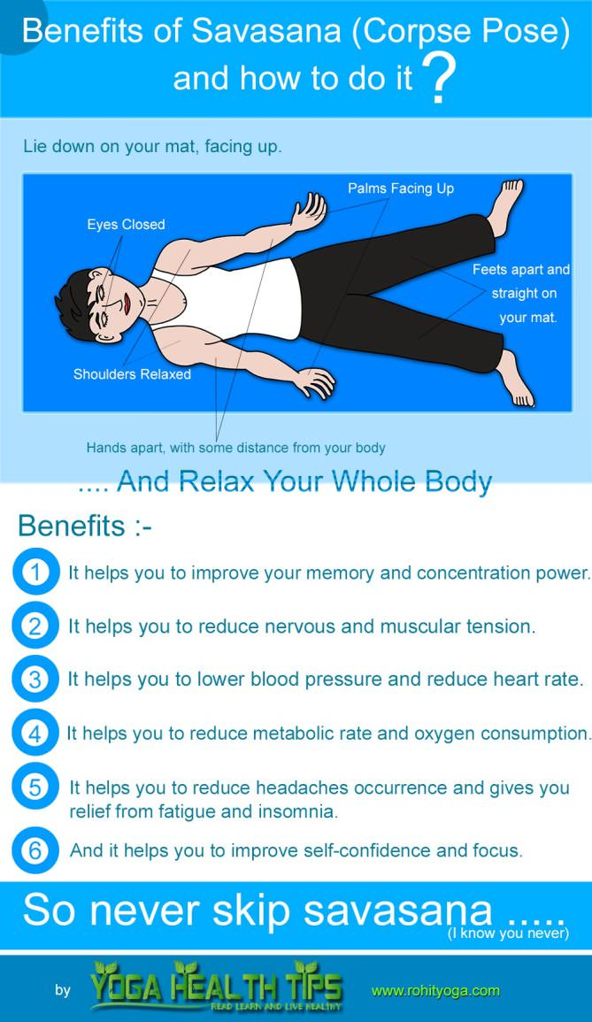 benefits of savasana and how to do it?