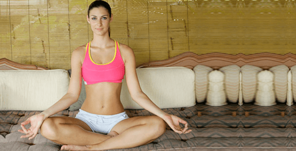 Expanding lungs through the practice of yoga
