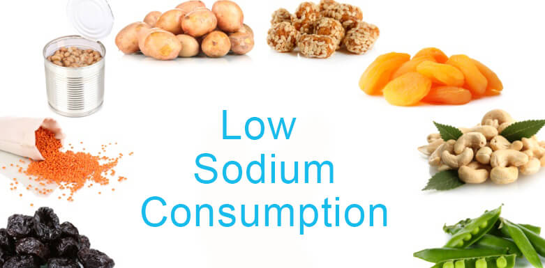 Low Sodium Consumption