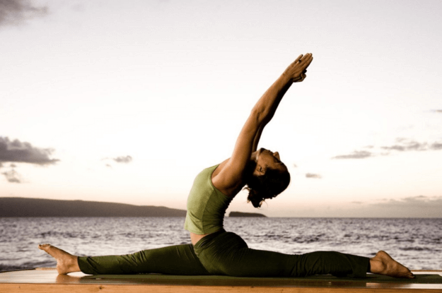 Recovering from bone break with yoga